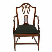 Set of Eight Hepplewhite Chairs (5 of 9)
