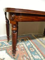 Large Regency Mahogany Concertina Action Dining Table (9 of 9)