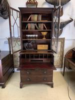 Victorian Mahogany Secrétaire Bookcase (8 of 8)