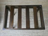 Mid 20th Century Mahogany Luggage Rack (2 of 6)