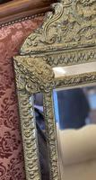 French Brass Cushion Mirror (4 of 10)