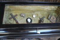 Ebonised Bijouterie / Vitrine Cabinet Table (4 of 8)