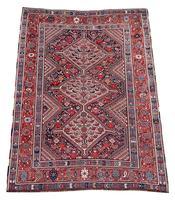 Antique Khamseh Rug (2 of 10)