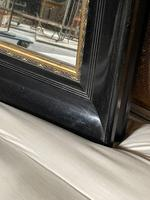 French Ebonised 19th Century Wall Mirror (9 of 16)
