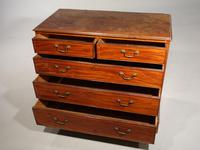 Good George III Period Mahogany Chest of Drawers (3 of 5)