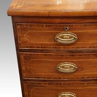 Regency Inlaid Bow Fronted Chest (3 of 10)