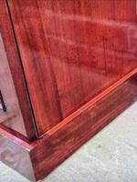Victorian Mahogany Bedside Cupboard With Marble Top (5 of 8)