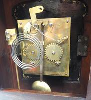 Unusual & Rare Mahogany Bracket Clock Taj Mahal Bezel & Dial Mantel Clock (3 of 10)