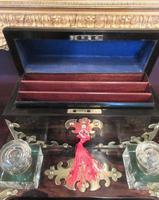 Early Victorian Coromandel Letter & Inkstand (2 of 7)