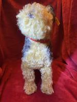 Steiff Classic 1935 Fellow Terrier with Original Tag, Button in Ear & Carrier Bag (7 of 11)