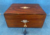 Victorian Rosewood Jewellery Box (3 of 15)