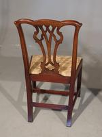 Good Early 20th Century Set of 8 '7+1'  Chippendale Design Mahogany Chairs (6 of 6)
