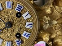 Louis XV Style Ormolu Mantel Clock by Raingo, Paris (15 of 16)