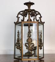 Antique French Gilt Bronze Lantern (9 of 13)