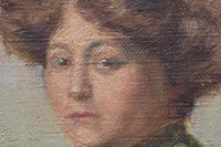 Armand Laureys b.1867 La Femme En Vert c.1900 (6 of 7)