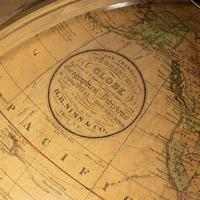 12 inch Franklin terrestrial table globe by Nims & Co, New York (4 of 4)