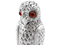 Sterling Silver Owl Pepperettes - Antique Victorian (9 of 12)
