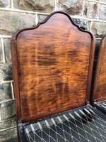 Pair of Antique Mahogany Single Beds (3 of 10)
