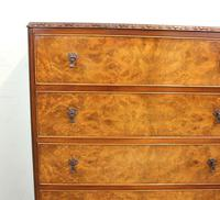 Burr Walnut Chest of Drawers (4 of 8)