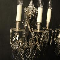 French Pair of Silver Gilded Wall Sconces (7 of 10)