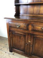 Early 20th Century Oak Dresser (12 of 15)