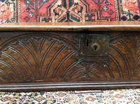 Antique Late 17th Century Oak Desk Box (3 of 4)