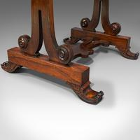 Antique Fold Over Games Table, English, Rosewood, Chess, Cards, Regency c.1820 (12 of 12)