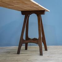 Pine & Oak Trestle Table (4 of 10)