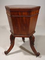 George III Period Hexagonal Mahogany Wine Cooler (2 of 6)