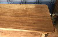 Large Victorian Pine Farmhouse Table (11 of 15)