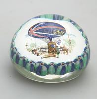 Vintage Art Glass Murano Novelty Ballooning Large Millefiori Paperweight 20th Century (2 of 3)