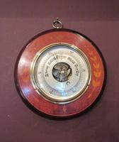 High Quality Antique Sheraton Inlaid Barometer (6 of 6)
