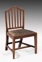 Set of Ten George III Period Mahogany Chairs (3 of 7)