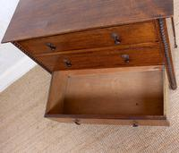 Oak Chest of Drawers Arts & Crafts (3 of 13)
