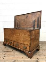 18th Century Elm Mule Chest with Hinged Top (10 of 14)