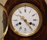 Rosewood Lancet Top Mantel Clock (7 of 15)