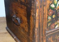 19th Century Austrian Folk Art Painted Pine Coffer (12 of 23)