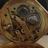 Antique 14ct Gold Cased, Enamel-decorated, Ladies Watch (6 of 12)