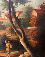 Substantial! Original Italian Landscape Oil by Follower of 17th Century Gaspard Dughet (5 of 15)