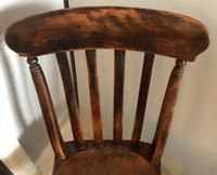 Set OF Three Victorian Slat Back Chairs (3 of 7)