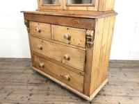 Antique Victorian Pine Dresser with Glazed Top (5 of 13)