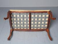 Antique Victorian Carved Walnut Centre Stool (7 of 7)