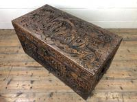 Antique Chinese Camphor Wood Trunk (3 of 14)