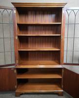Mahogany Bookcase Bevan Funnell Reprodux V649 (10 of 10)