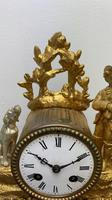 Japy Freres Gilt Mantle Clock (4 of 8)