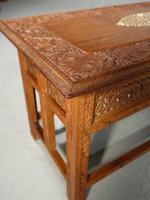 Beautifully Carved Late 19th Century Eastern Low Table (6 of 7)