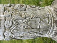 "Roman Style Stone Garden Bronze Floral Sundial ""Sunny Hour"" (17 of 30)"