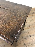 Antique 18th Century Joined Oak Coffer (7 of 15)