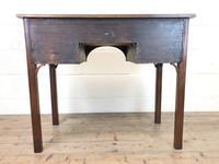 Antique Oak Side Table (9 of 9)