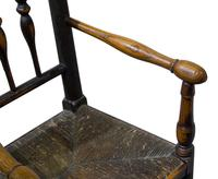 Early 19th Century Turned Ash Spindle Back Child's Chair (3 of 3)